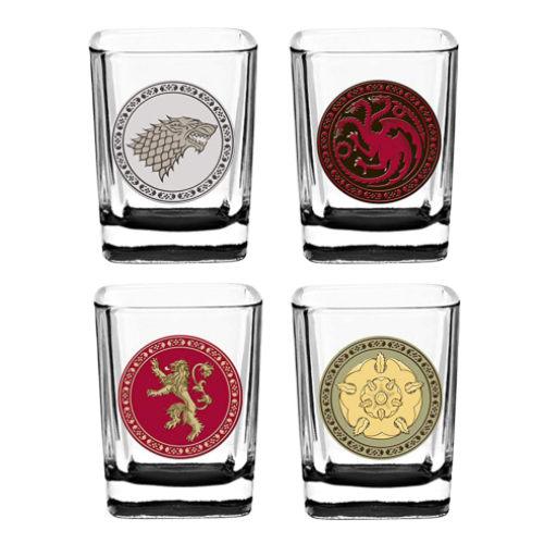 sigil shot glasses game of thrones