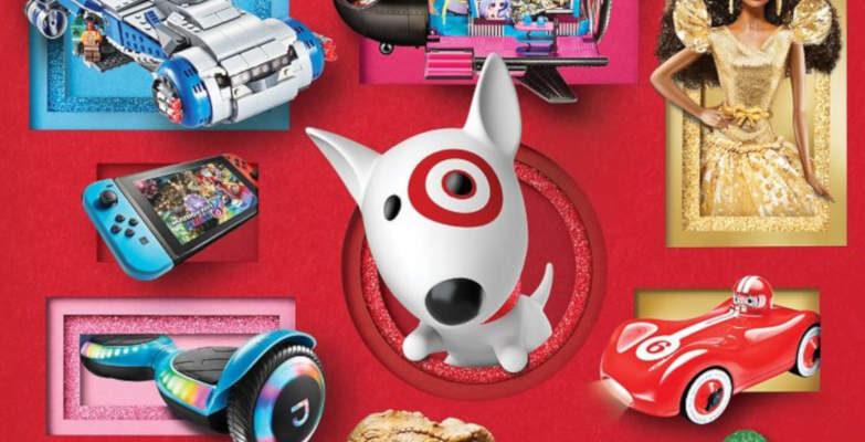 target catalog cover header