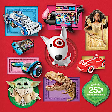 target toy catalog cover
