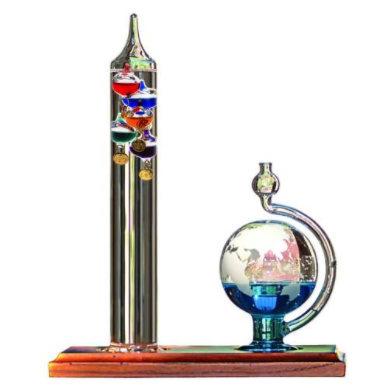 Galileo thermometer and barometer