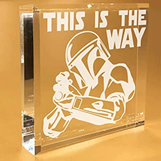 this is the way clear keepsake