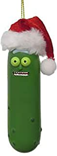 pickle ornament santa hat